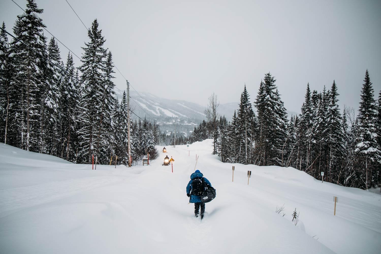 paysage Saguenay-Lac-Saint-Jean en hiver