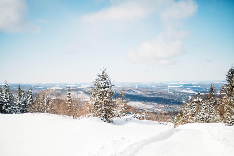 paysages Chaudière-Appalaches en hiver