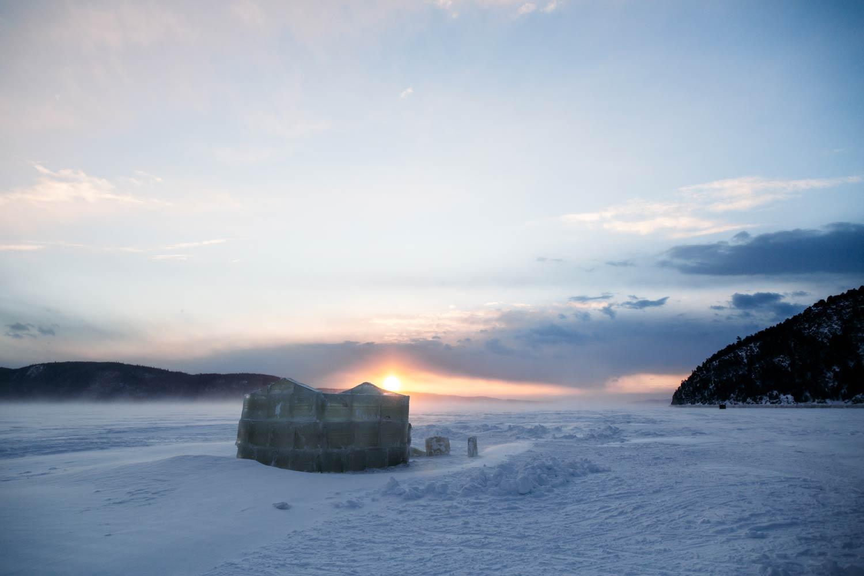 pêche blanche sur le fjord du Saguenay
