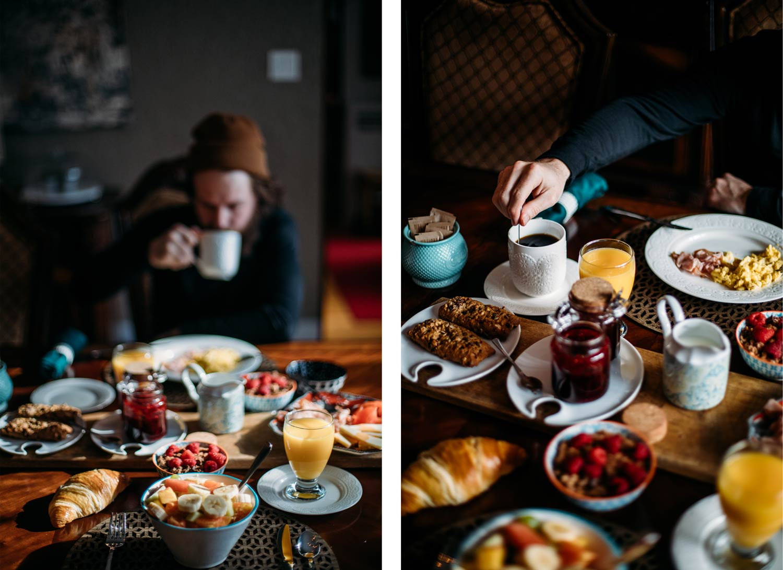 petit-déjeuner Auberge Kingsville