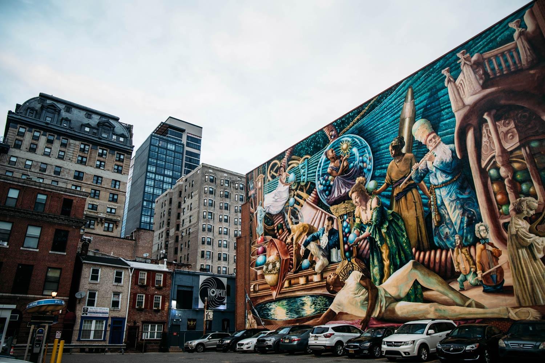 Philadelphie : meilleure ville aux USA pour le street art