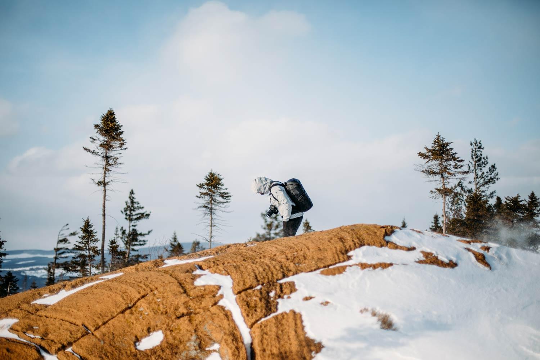 randonnée mont caribou en Chaudière-Appalaches