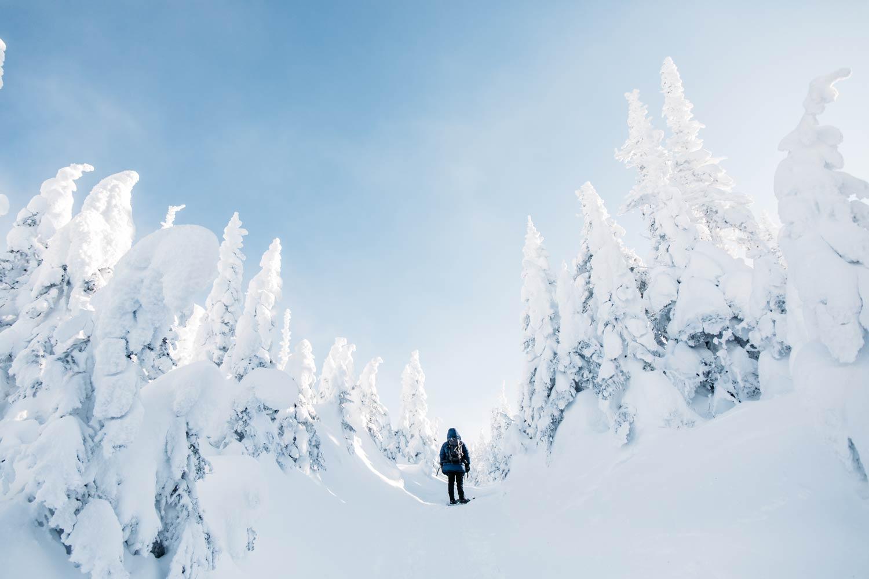 randonner vallée des fantômes au Québec