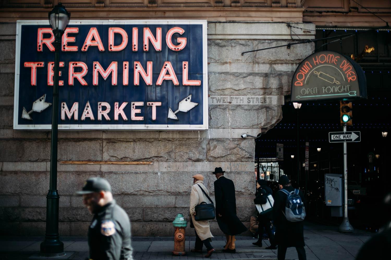 reading terminal market Philadelphie