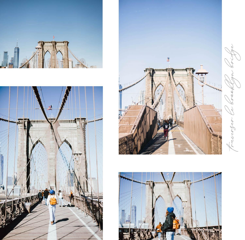 traverser le brooklyn bridge en hiver