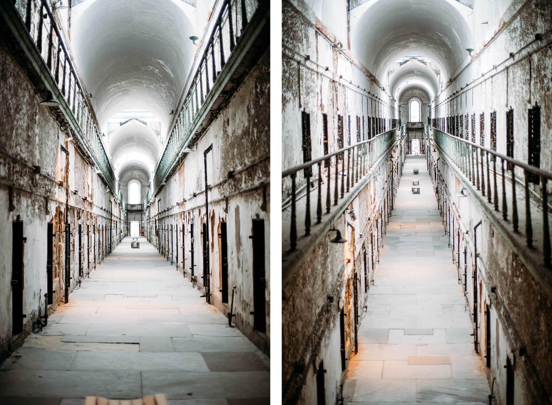 visiter la prison de Philadelphie