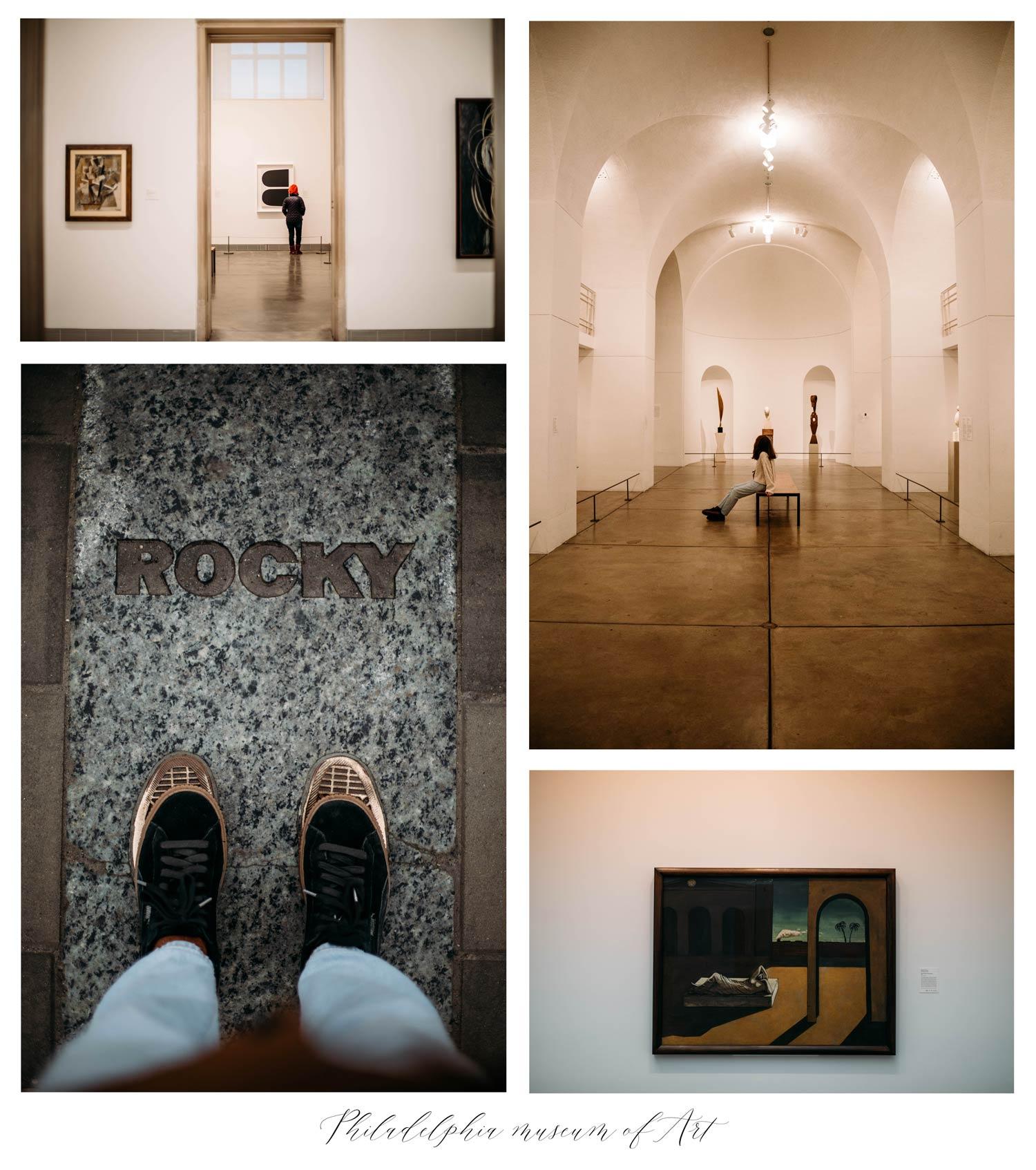 visiter musée Art Philadelphie et marches de Rocky