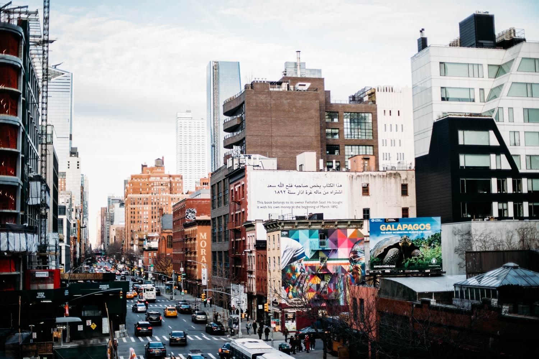 visiter New York et la high line