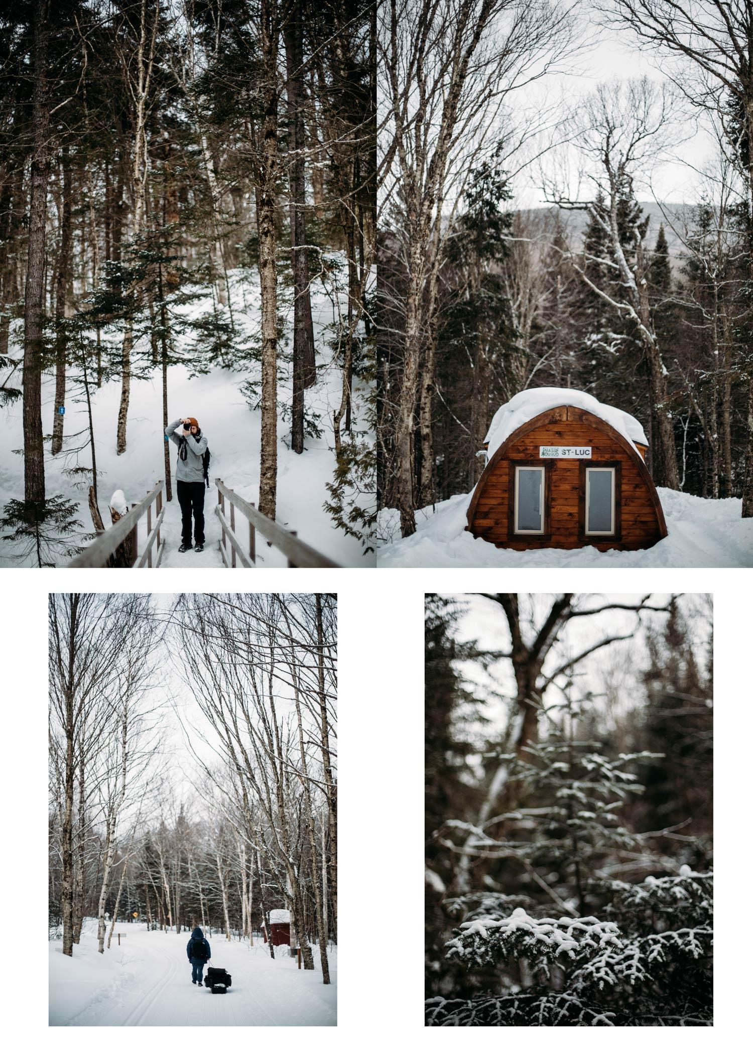 voir le Québec en hiver blog