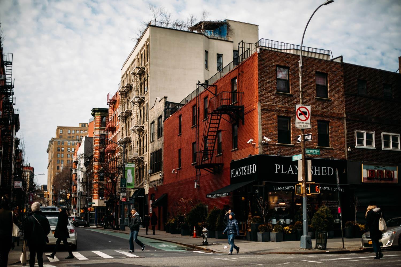 voir New York en hiver blog voyage