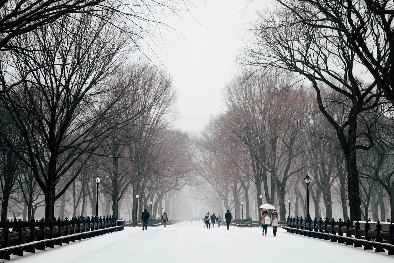 voyager à New York en hiver
