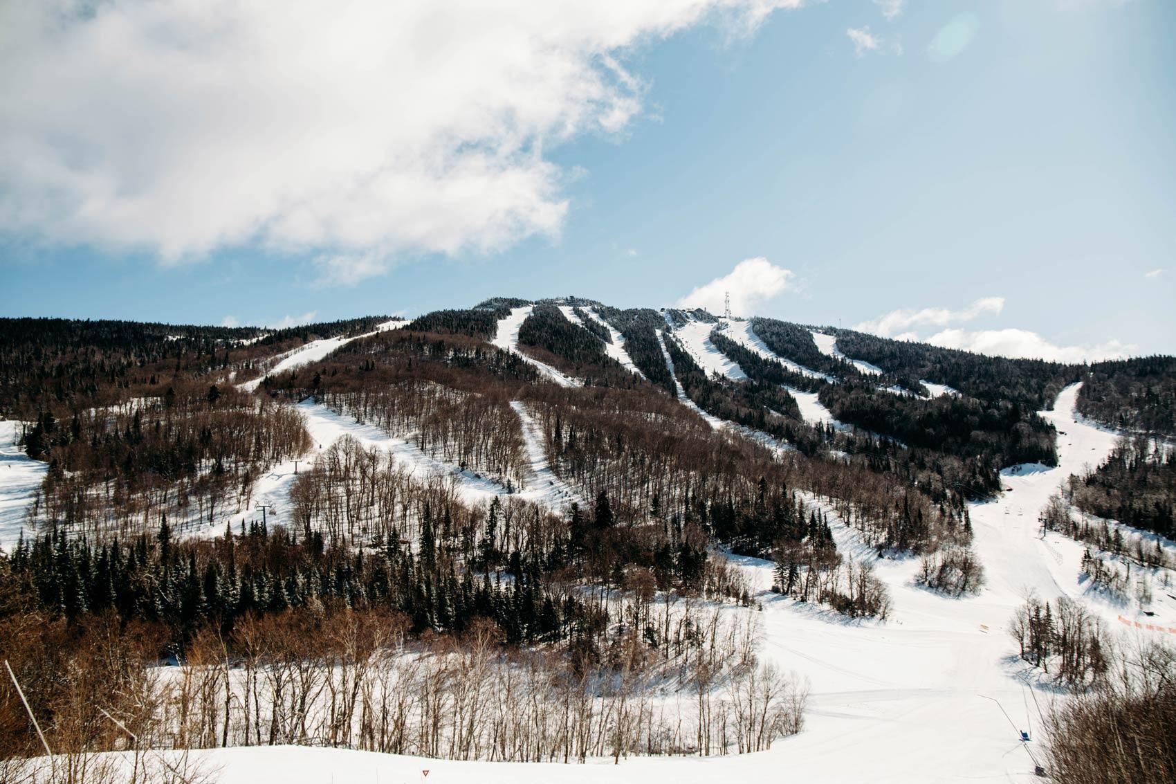 domaine skiable de Mont-Tremblant