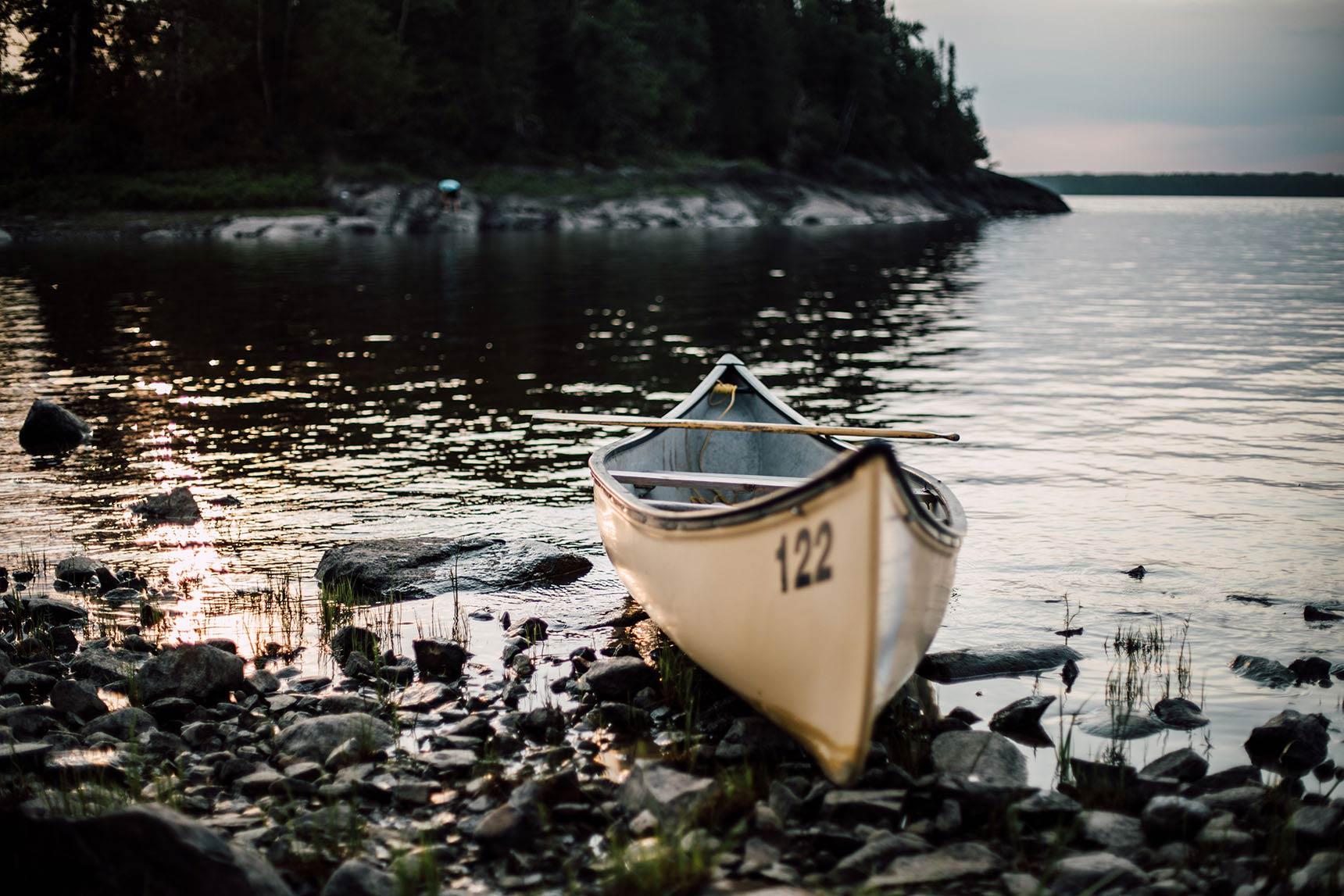 faire du canot au Québec