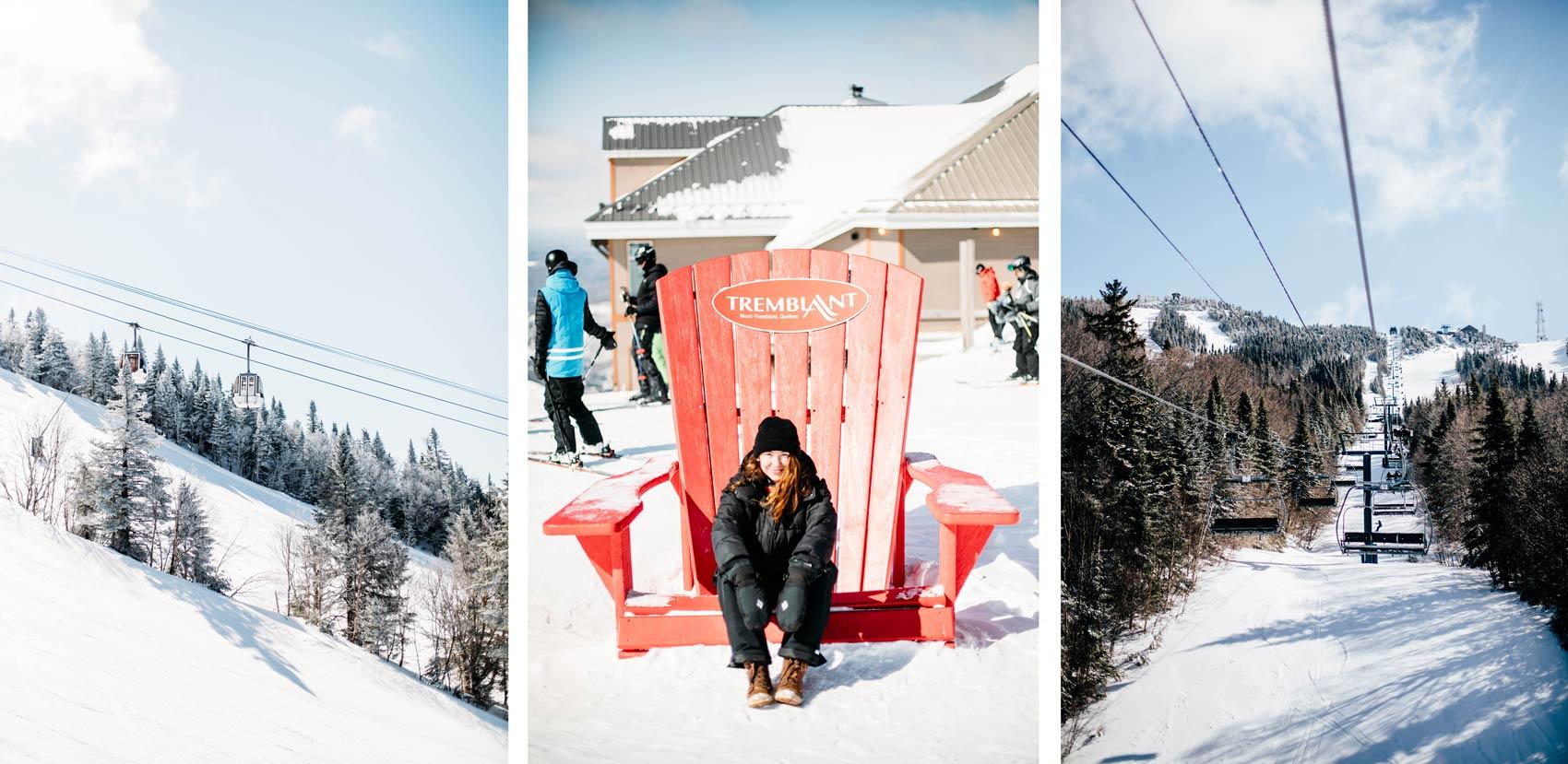 le Québec en hiver Les Laurentides