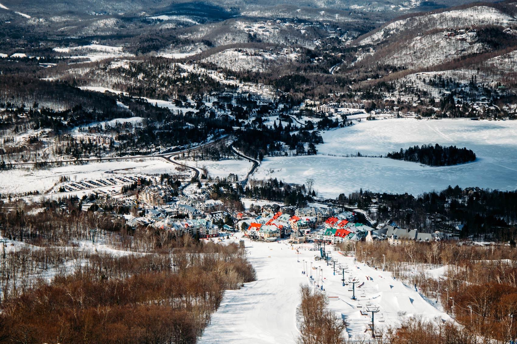 que voir village Mont-Tremblant