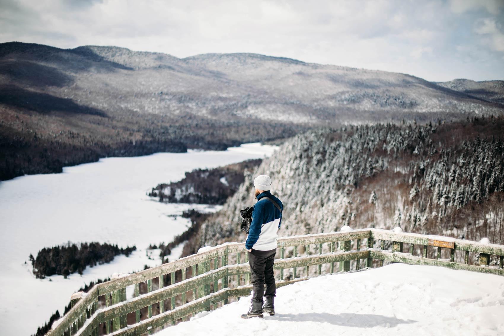 randonnée de la roche Mont-Tremblant