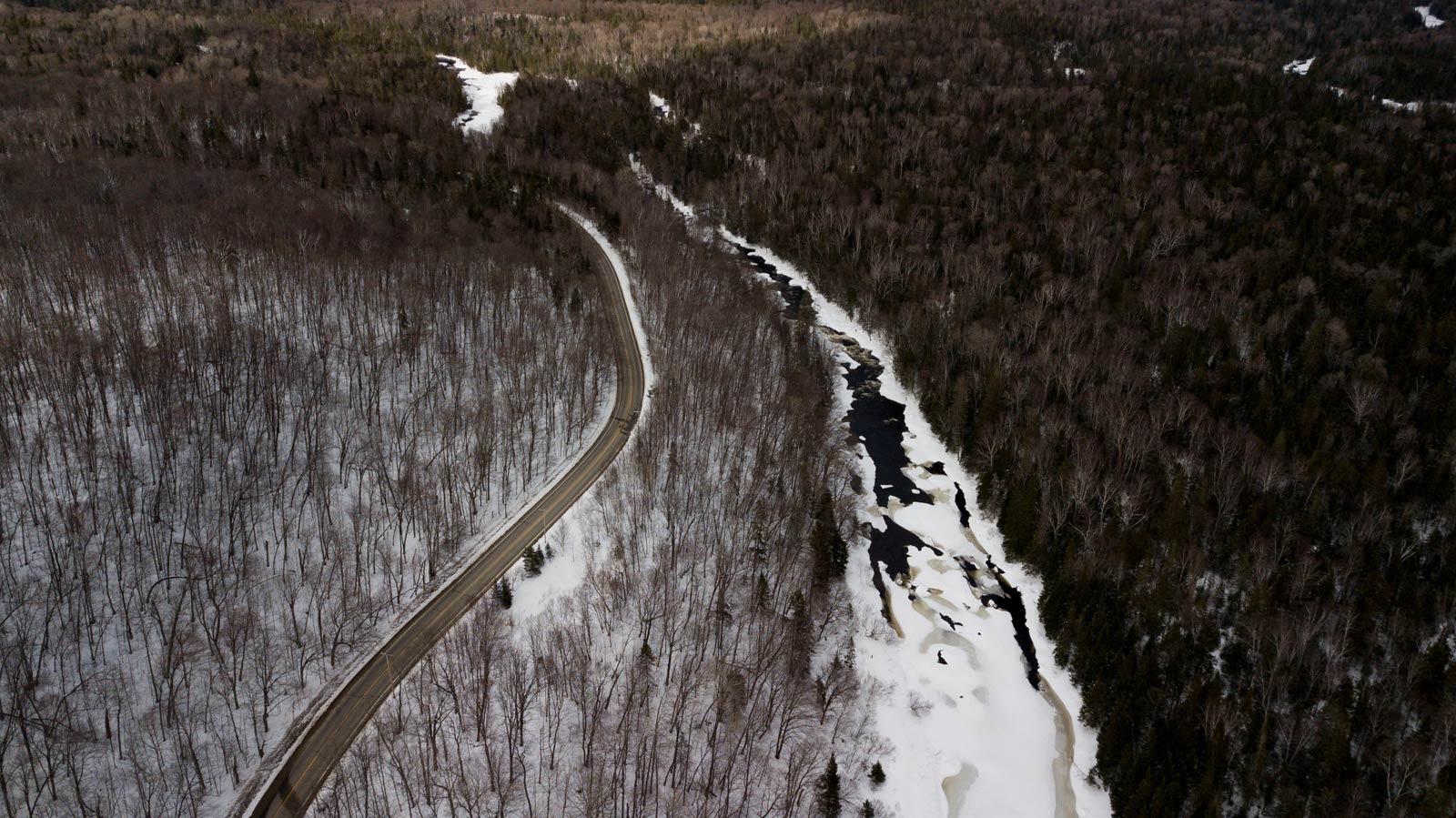 road trip au Québec en hiver
