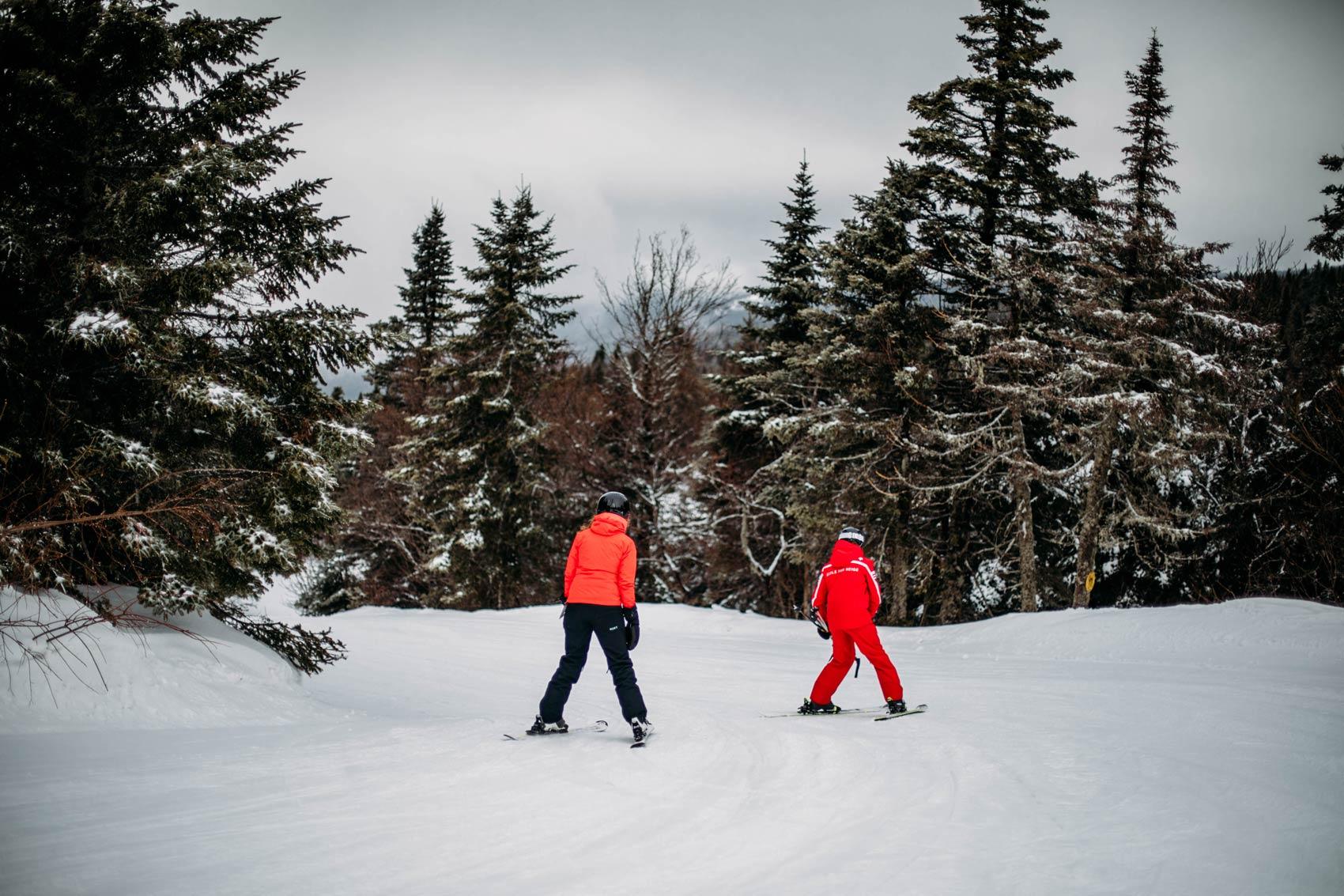 skier à Mont-Tremblant