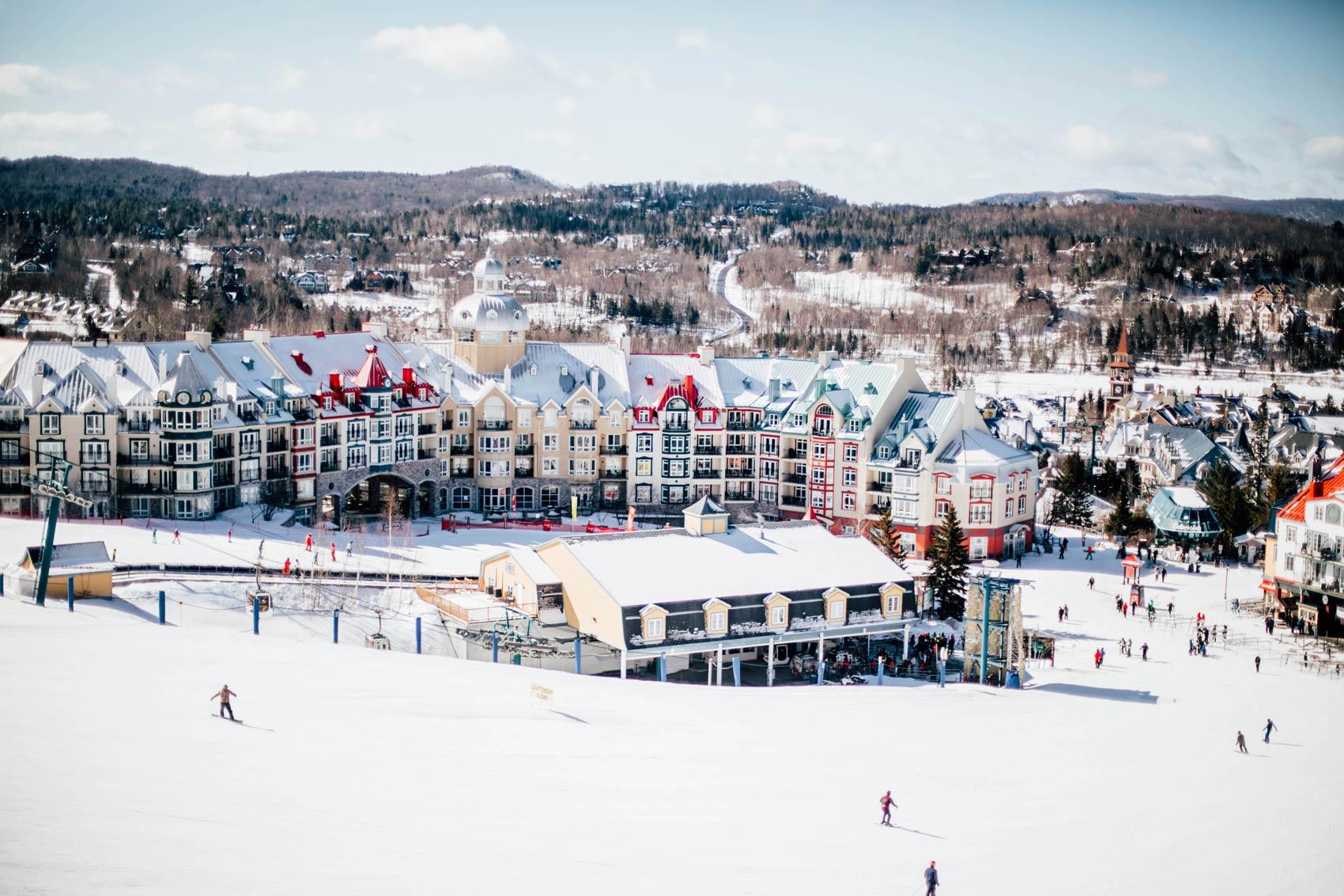 station de ski Tremblant les Laurentides