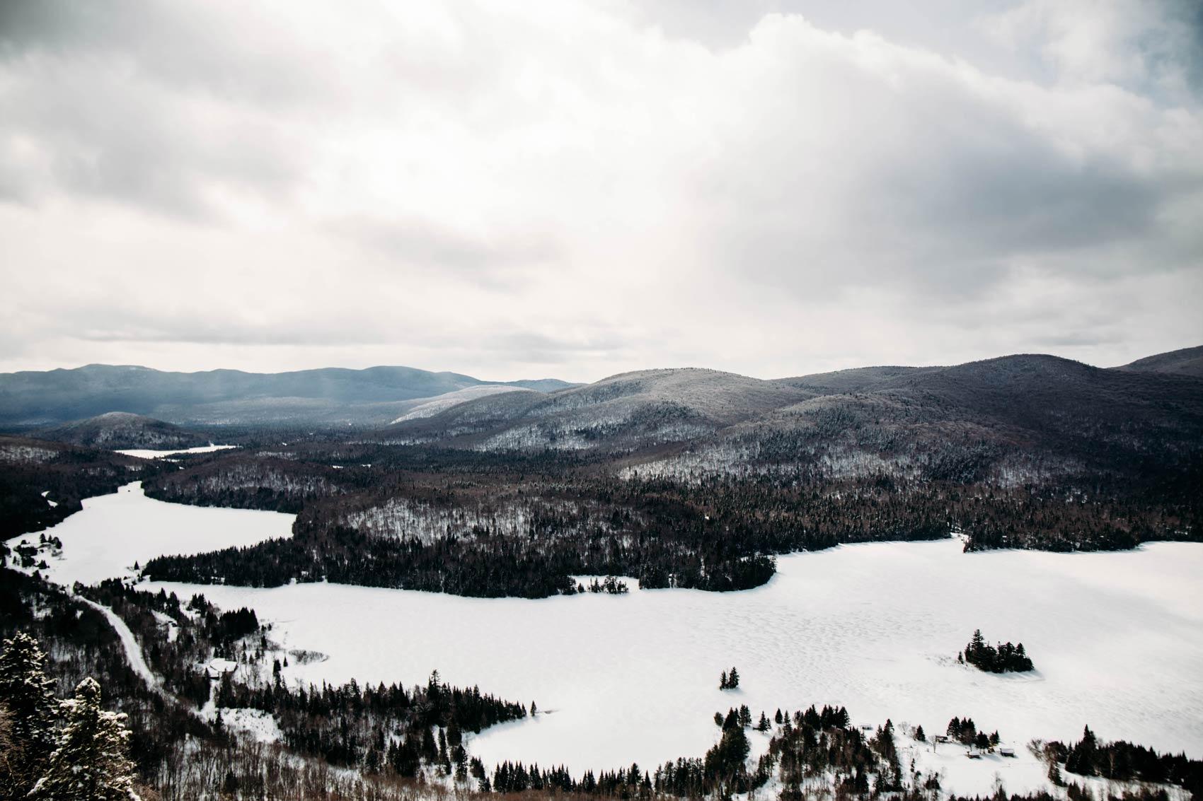 voir le parc national Mont-Tremblant en hiver