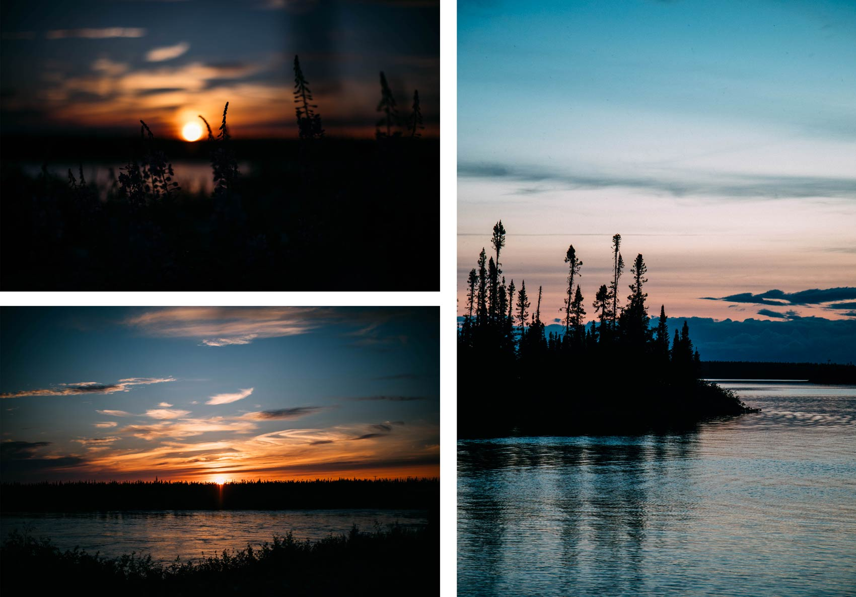 coucher de soleil Québec