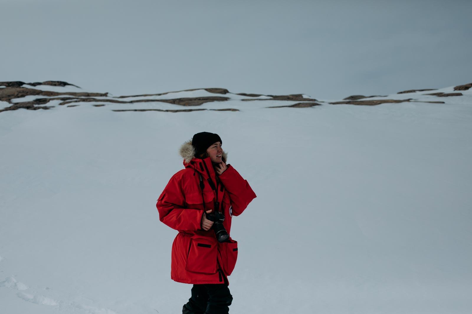 équipement pour expédition Nunavik hiver