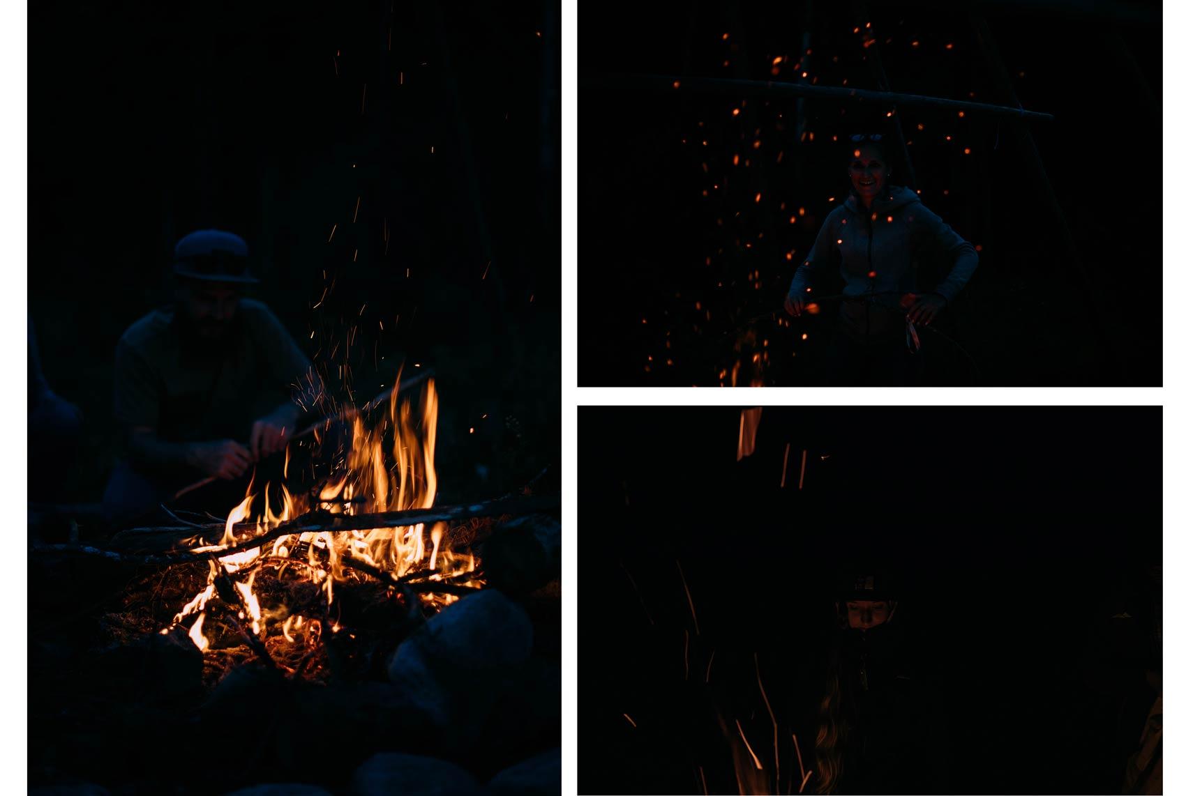 feux de camp aventure Québec