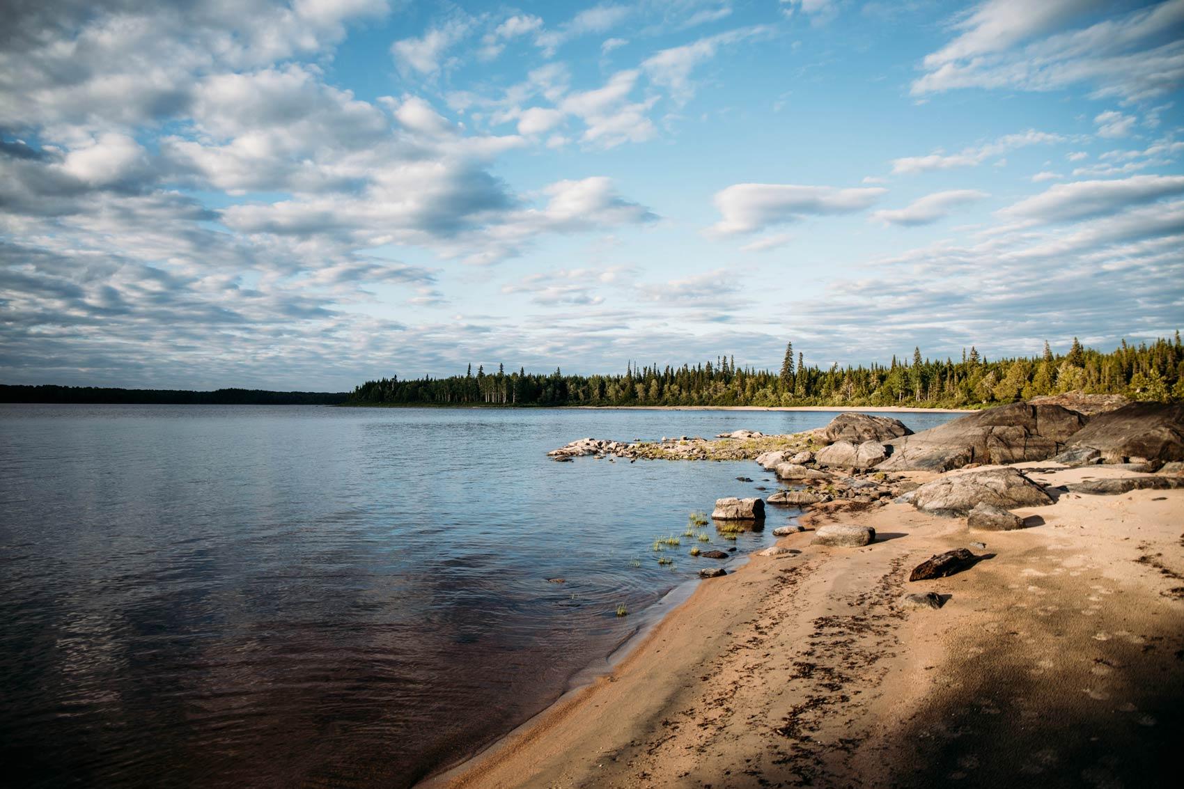 lac nord Québec