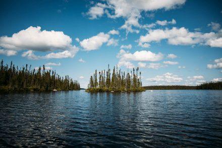 lacs du Québec en été