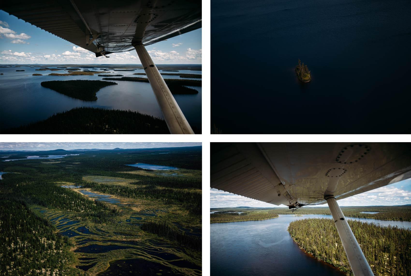 survoler le Québec en hydravion