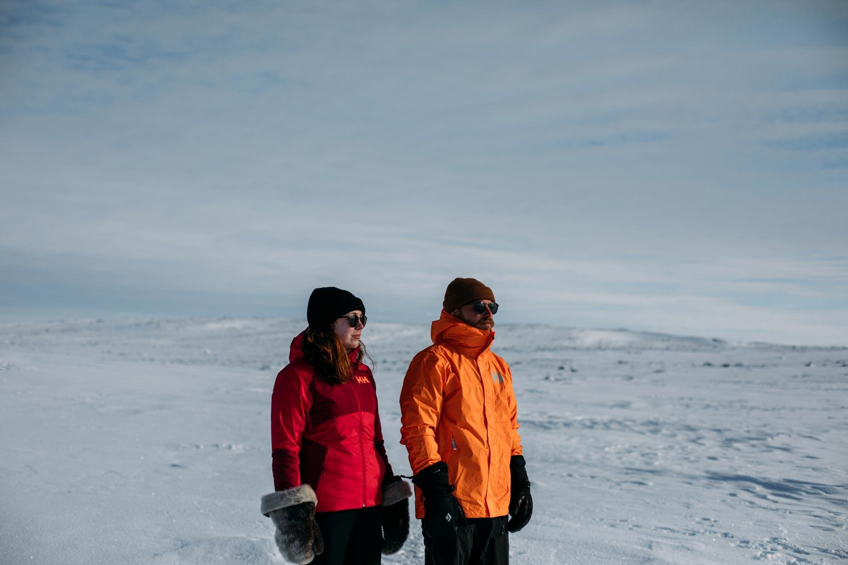 test vestes Helly Hansen expédition Nunavik
