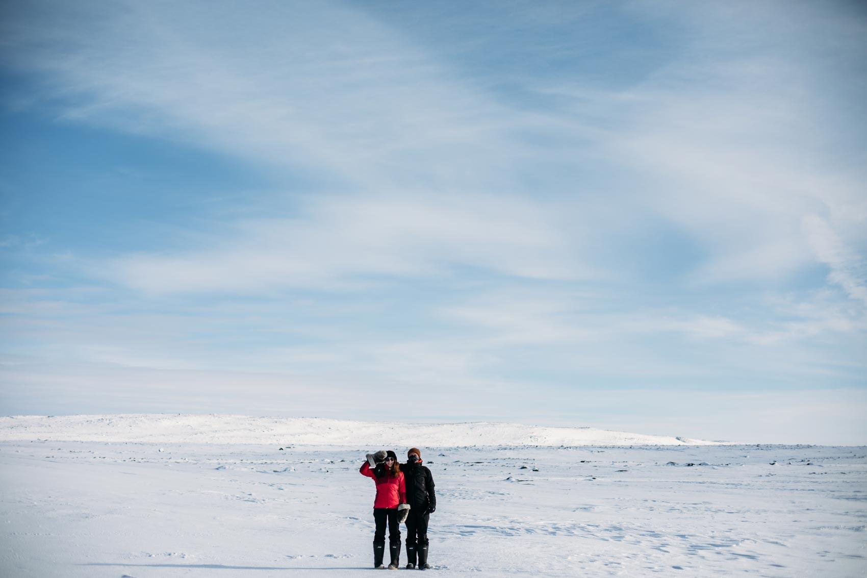 voyager au Nunavik en hiver : quel équipement ?