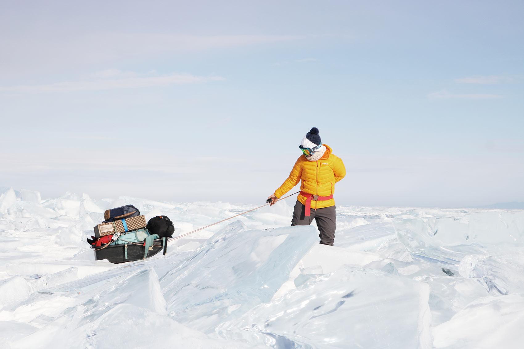 voyage hors des sentiers battus : le lac baikal en hiver
