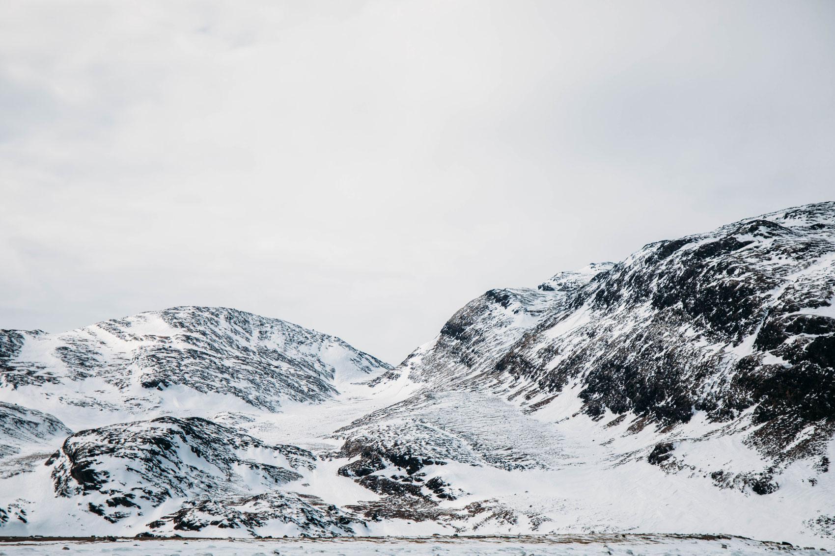 baie d'ungava Nunavik en hiver
