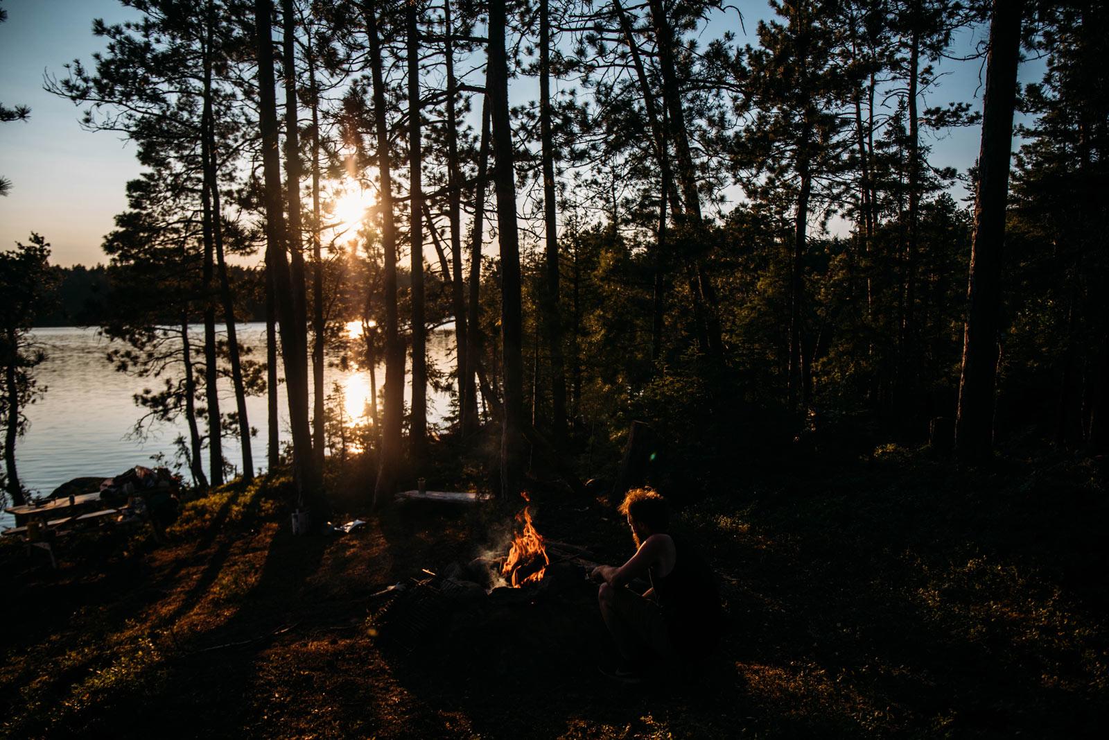 camping lac Kipawa Abitibi