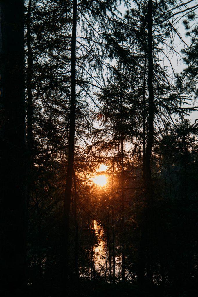 camping sauvage au Québec