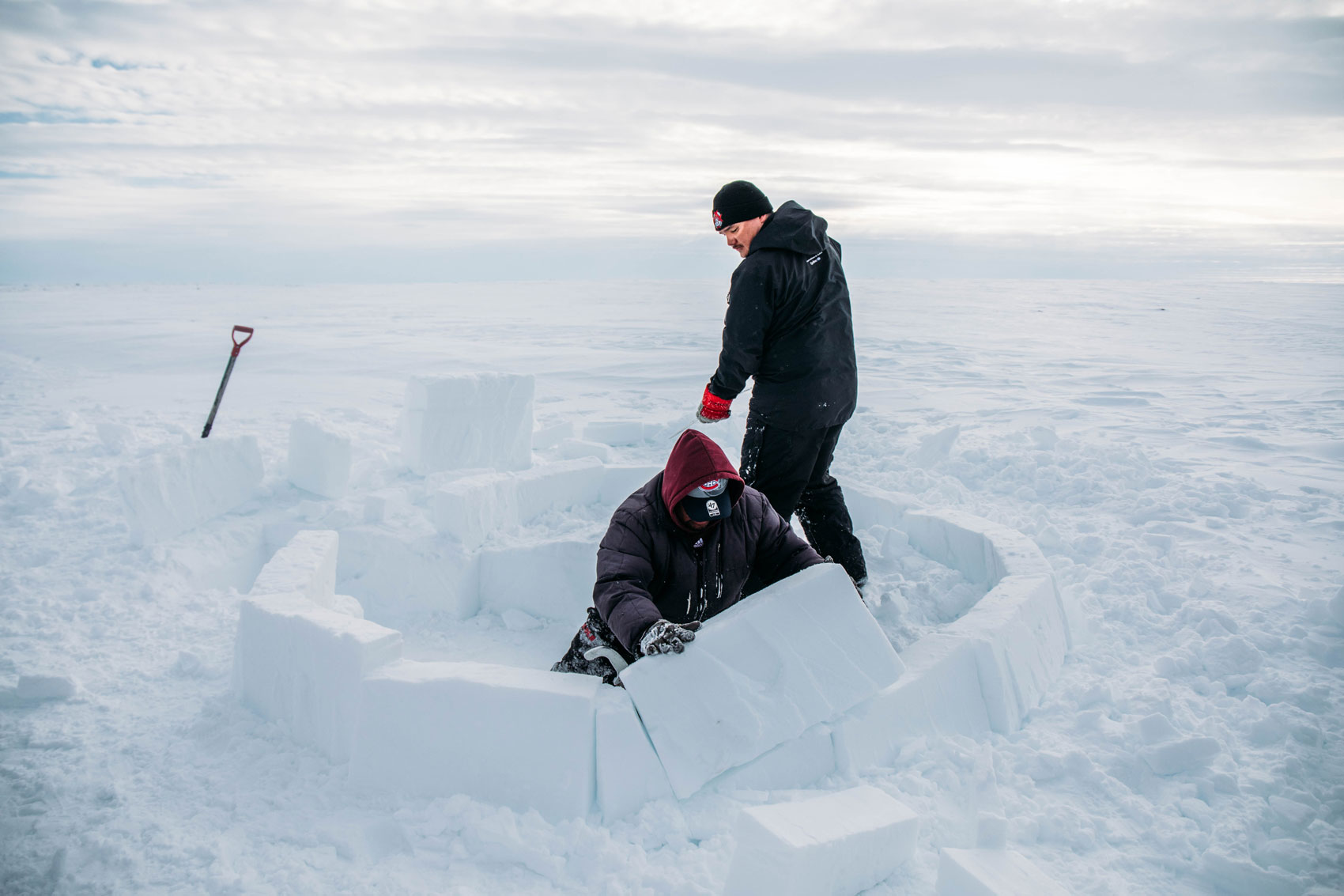 comment construire un igloo