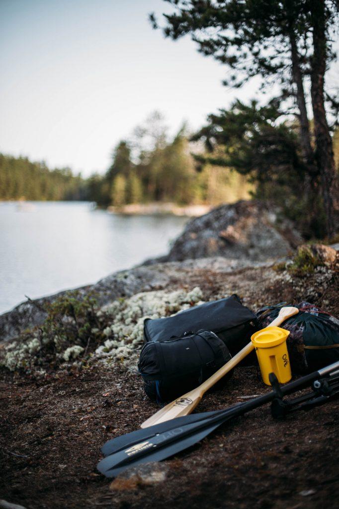 équipement indispensable pour le canot-camping