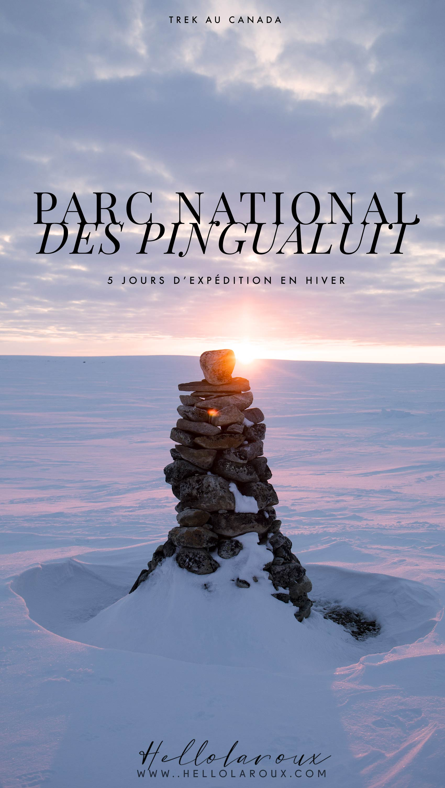 expédition au parc national des Pingualuit