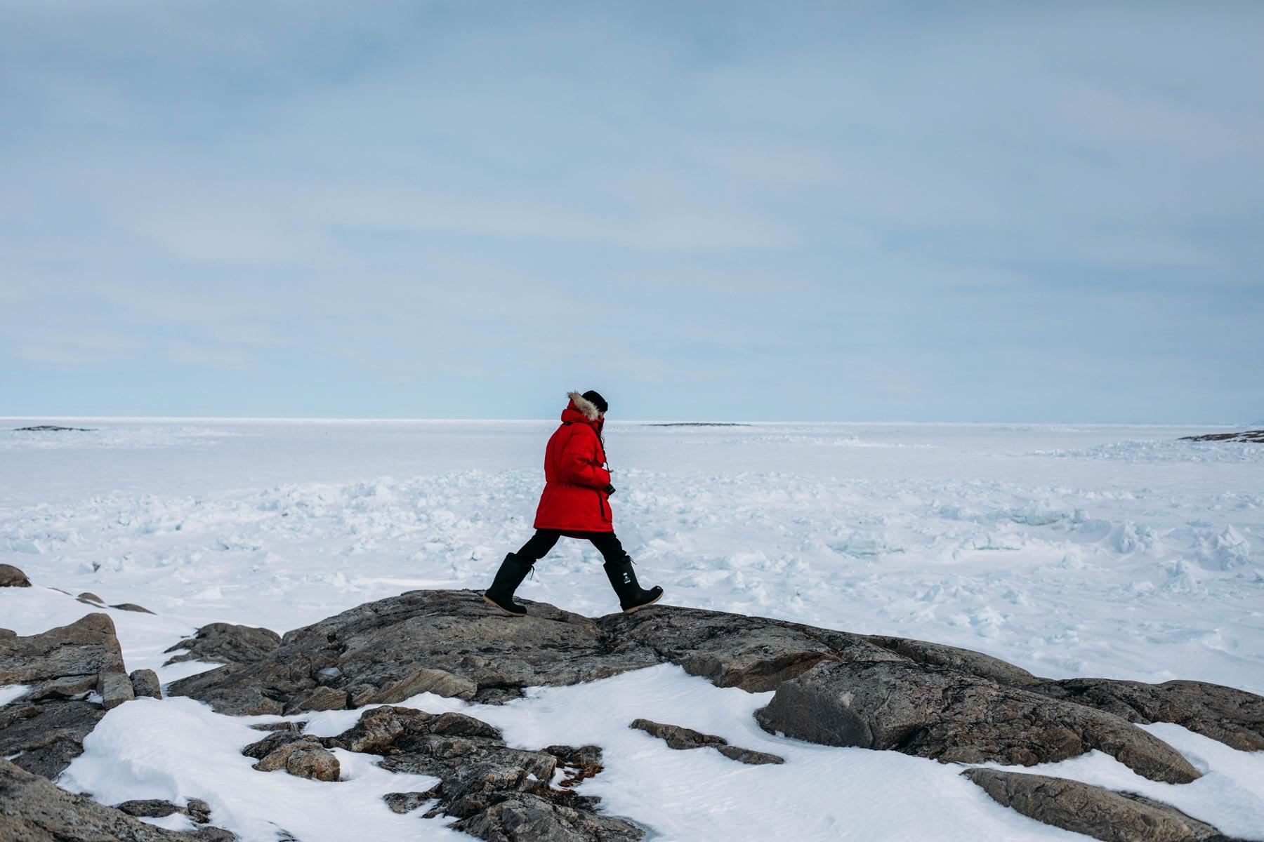 Expédition grand nord Canada en hiver