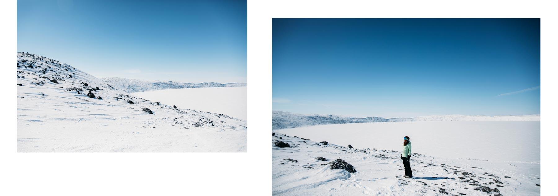 expédition nordique cratère Pingualuit Nunavik