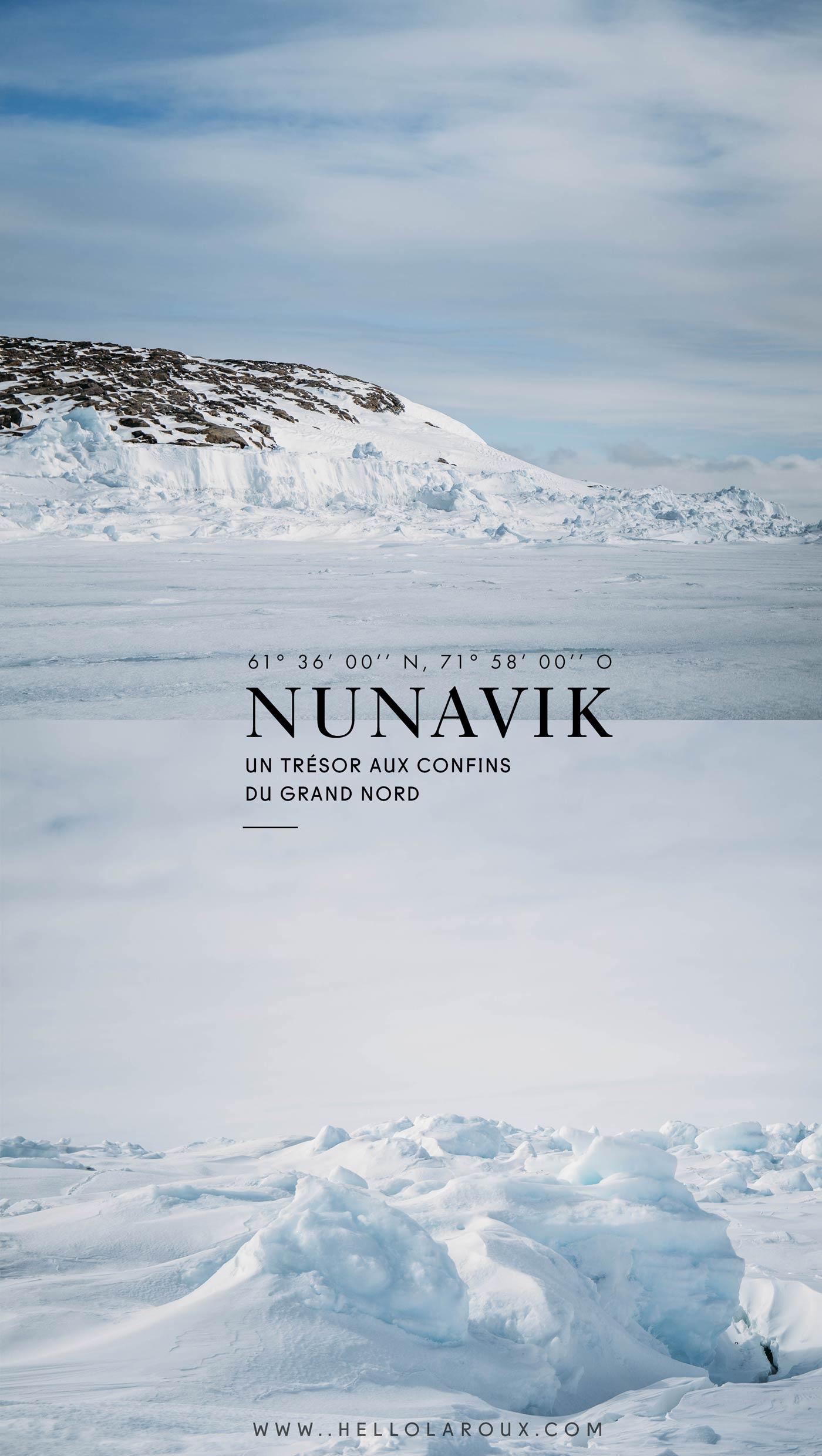 expédition Nunavik Grand nord Canada