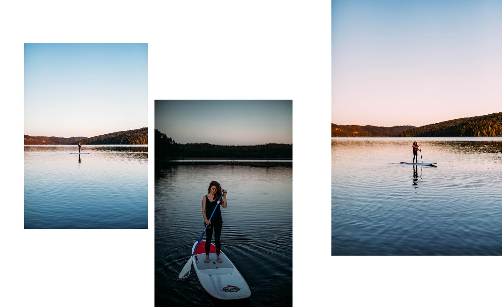 faire du sup paddle au Québec