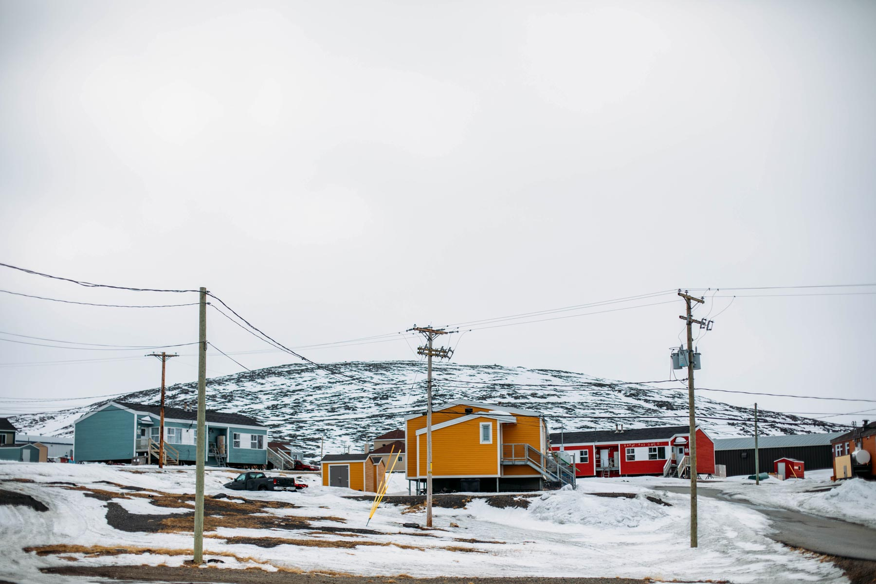 maisons colorées pays nordiques