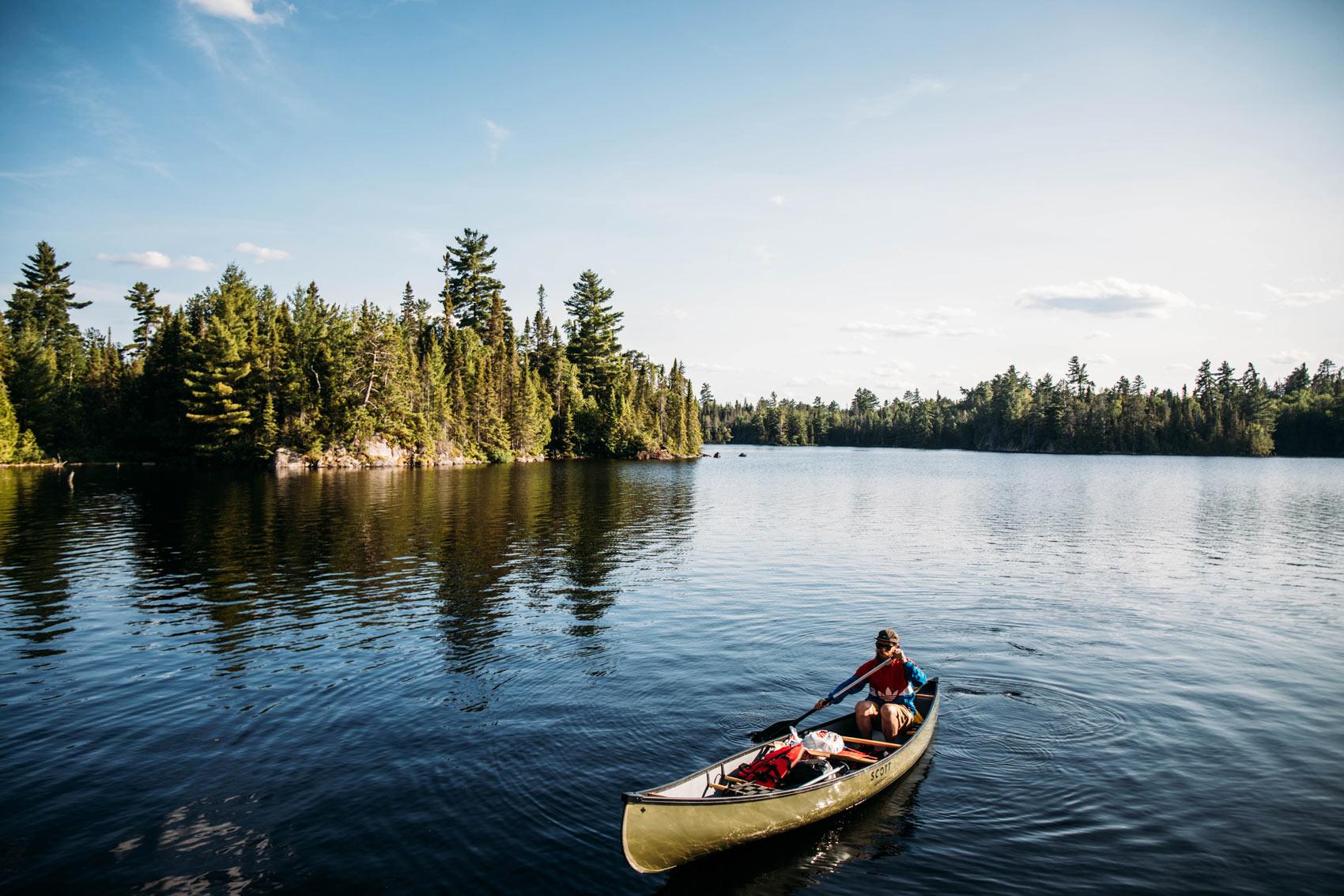 meilleur endroit où faire du canot-camping