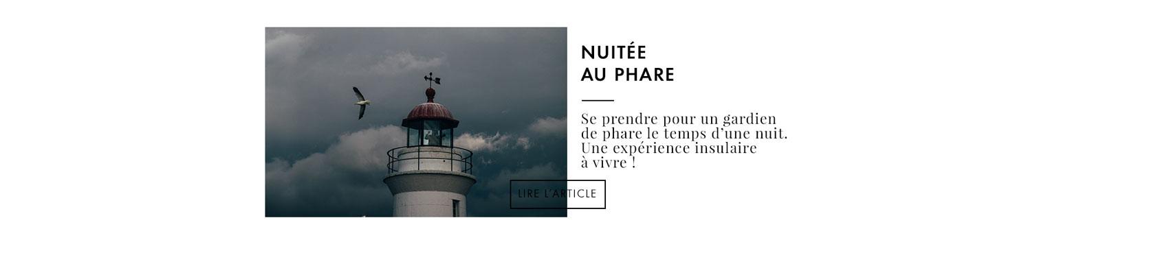 nuit insolite : dormir dans un phare au Québec