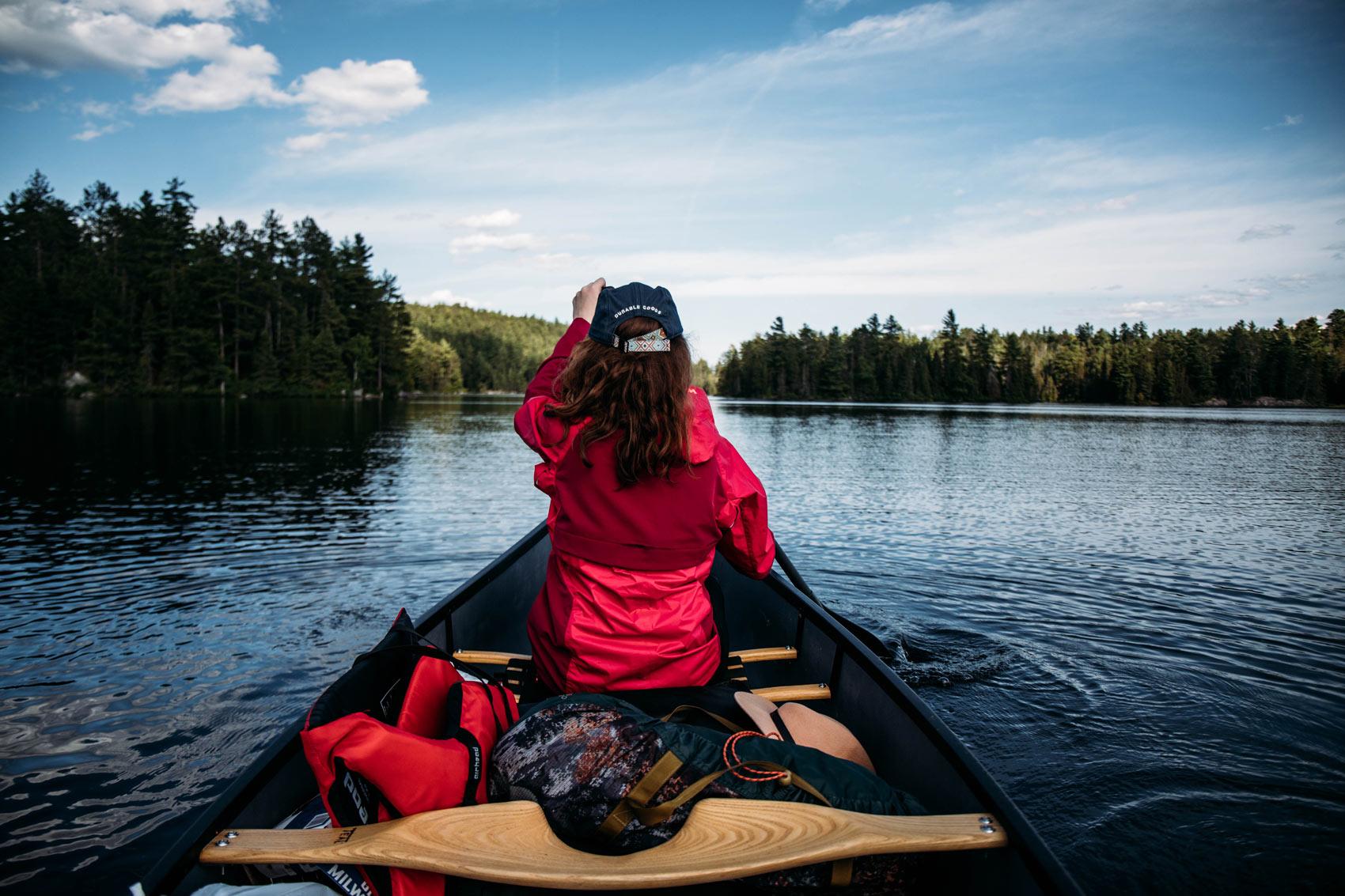 on a testé le canot-camping au Québec