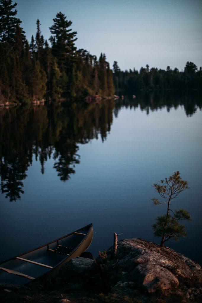 où faire du canot-camping au Canada