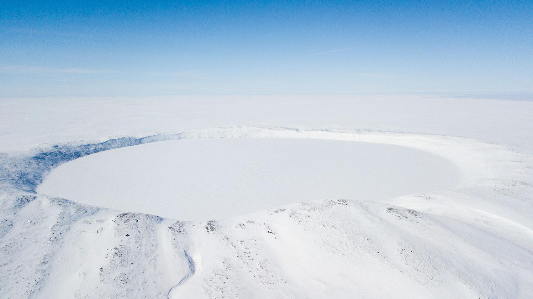 parc national des Pingualuit en hiver