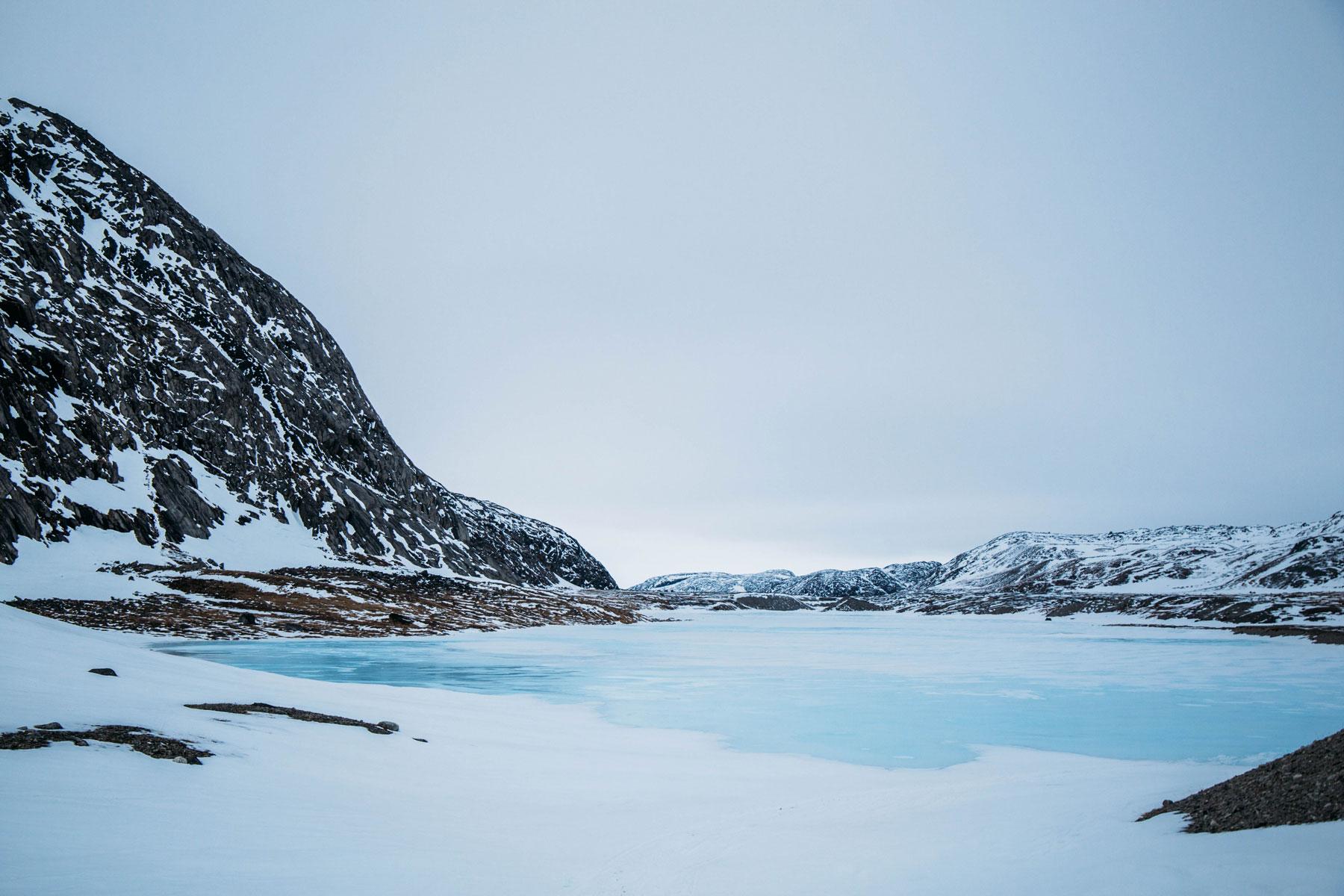 paysages de glace du Nunavik